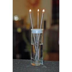 Duo Design Flicker Light Oil Lamp