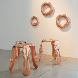 Zieta Plopp Stool Copper