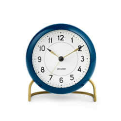 Rosendahl Station Table Clock Blue