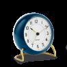 Rosendahl Station Table Clock Blue