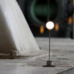Northern Lighting Snowball Table Lamp