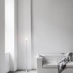 Northern Lighting Snowball Floor Lamp
