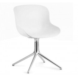 Normann Copenhagen Hyg Steel Chair Swivel 4L Alu