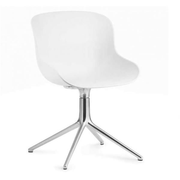 Normann Copenhagen Hyg Steel Chair Swivel 4L Alu