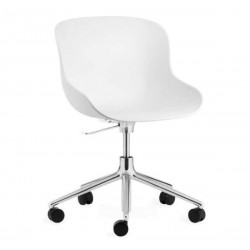 Normann Copenhagen Hyg Steel Chair Swivel 5W Gaslift