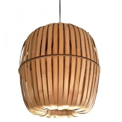 Ay Illuminate Kiwi Bamboo Lamp