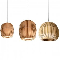 Ay Illuminate Kiwi Bamboo Lamps