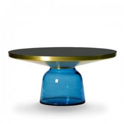 Classicon Bell Coffee Table Brass Blue Sapphire