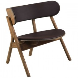 Northern Oaki Chair Lounge Seat + Back Leather