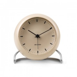 Rosendahl Arne Jacobsen City Hall Table Clock Sandy Beige