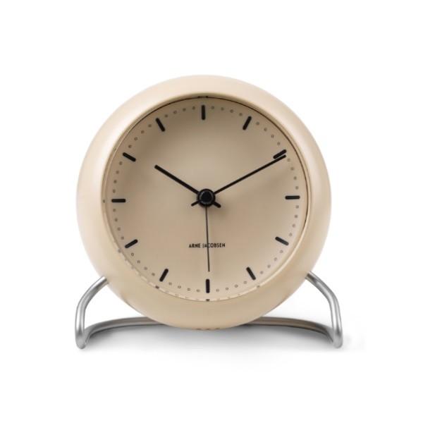 Rosendahl Arne Jacobsen City Hall Table Clock Sandy Beige