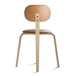 Menu Afteroom Plus, Dining Chair, Wood Base, Seat With Upholstery