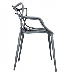 Kartell Masters Chair Titanium