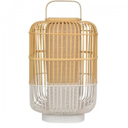 Forestier Bamboo Square Table Lamp