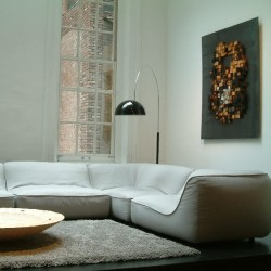 Oluce Coupe 3320 Floor Lamp