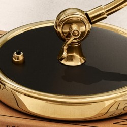 Fritz Hansen Kaiser Idell Table Lamp 6631-T, Special Edition Brass