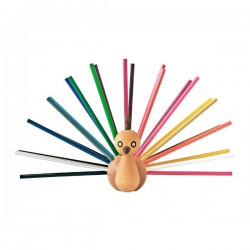 EO Peacock Pencil Holder