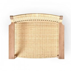 Fredericia MB61 Chair Cane Wicker Armchair