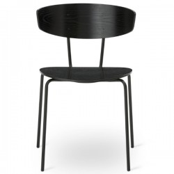 Ferm Living Herman Chair Black Frame