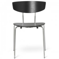 Ferm Living Herman Chair Chrome Frame