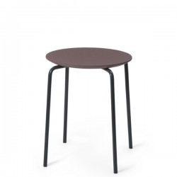 Ferm Living Herman Stool Black Frame