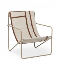 Ferm Living Dessert Lounge Chair Cashmere
