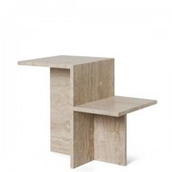 Ferm Living Distinct Side Table Travertine