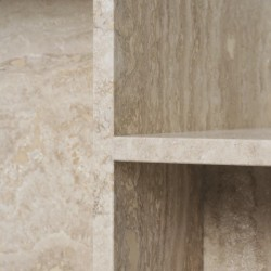 Ferm Living Distinct Side Table Travertine