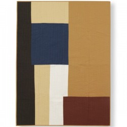 Ferm Living Shay Patchwork Quilt Blanket