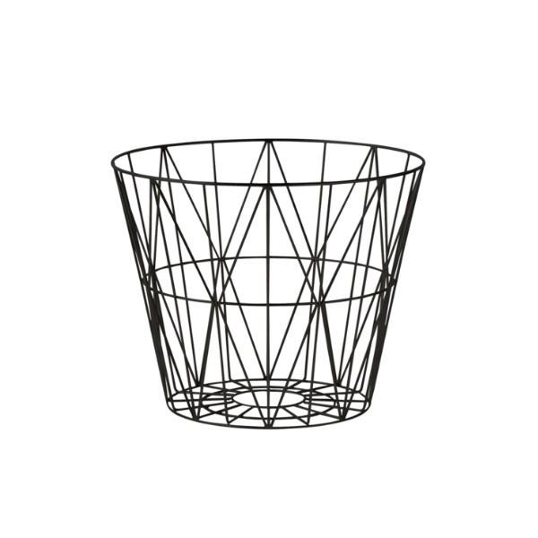 Fern Living Wire Basket