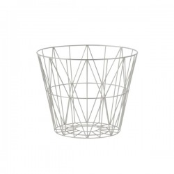 Fern Living Wire Basket