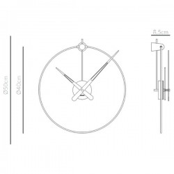 Nomon Micro Anda Clock