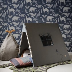 Ferm Living Tent with Beetle Embroidery