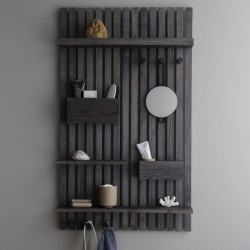 Ferm Living Wooden Multi Shelf Black