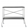 Kartell Flip Trolley Solid Black