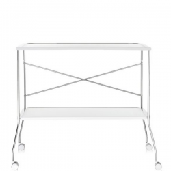 Kartell Flip Trolley Solid White