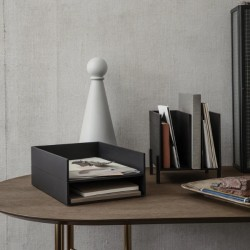 Ferm Living Letter Tray Stained Black
