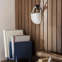 Ferm Living Paper Organizer Blue Stained Ash