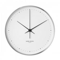 Georg Jensen Henning Koppel Wall Clock, 40cm Stainless Steel