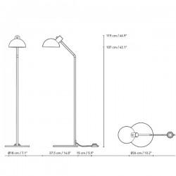 Carl Hansen MO32 Floor Lamp