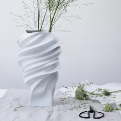 Rosenthal Squall Vase White Mat