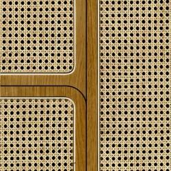 NLXL Cane Angle Webbing Oak