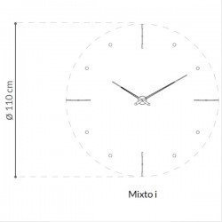 Nomon Mixto I Clock