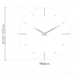 Nomon Mixto G Clock