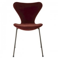 Fritz Hansen Series 7™ Velvet chair Autumn Red