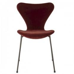 Fritz Hansen Series 7™ Velvet chair Autumn Red