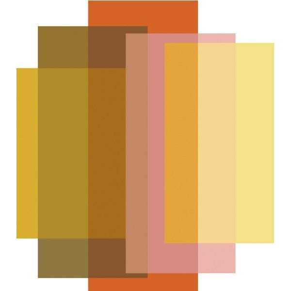 Moooi Carpets Blended 5 Colours – Candy Orange
