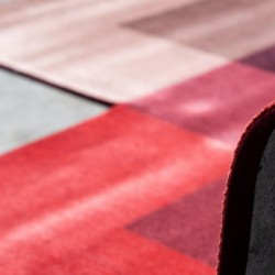 Moooi Carpets Blended 4 Colours – Marble Red