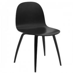 GUBI 2D  Un-upholstered Wood Chair