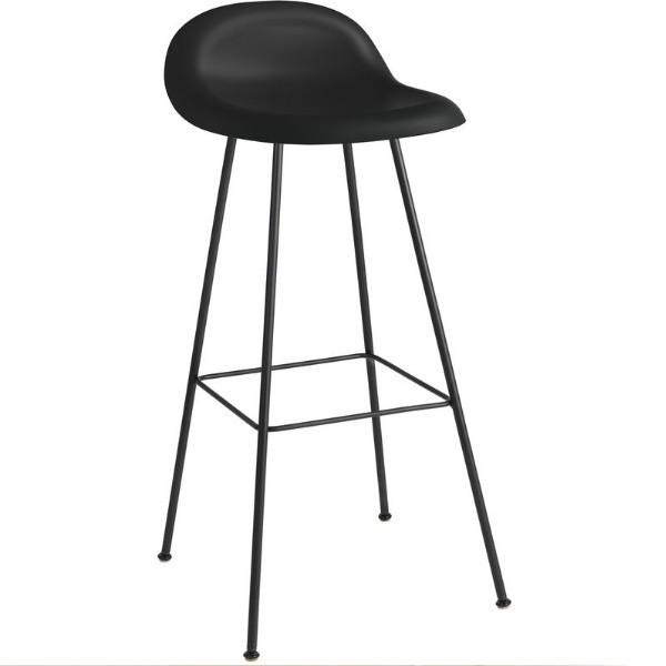 Gubi 3D Bar Stool Un-Upholstered Center Base